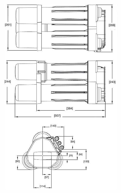 OSMOSI INVERSA PRODUZIONE DIRETTA 120 LT/H PENTAIR PRF-RO