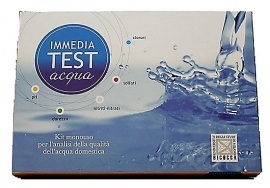 KIT ANALISI ACQUA DOMESTICA IMMEDIATEST