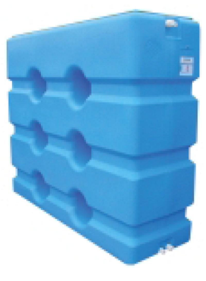 Serbatoi in polietilene parallelepipedi for Serbatoio di acqua calda in plastica