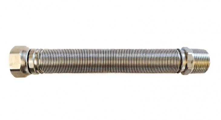 Tubo estensibile in acciaio inox 1 20 40 cm for Scatolati in acciaio inox